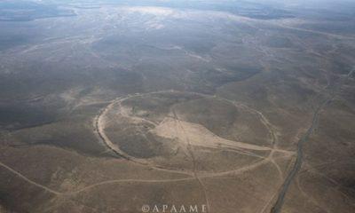 "The mystery of the ""Big Circles"" of Jordan 107"
