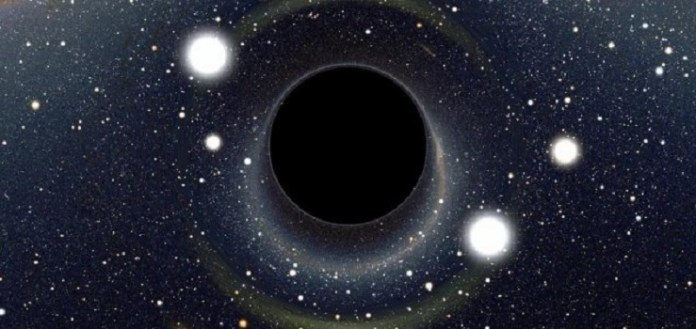 Thousands of planets can orbit a black hole 89