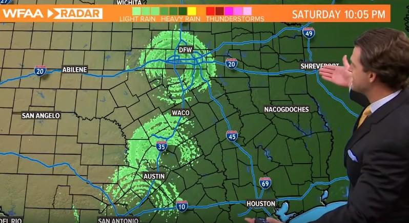 """Meteorological Radars record three """"Huge Anomalies"""" in the Texas skies 8"""