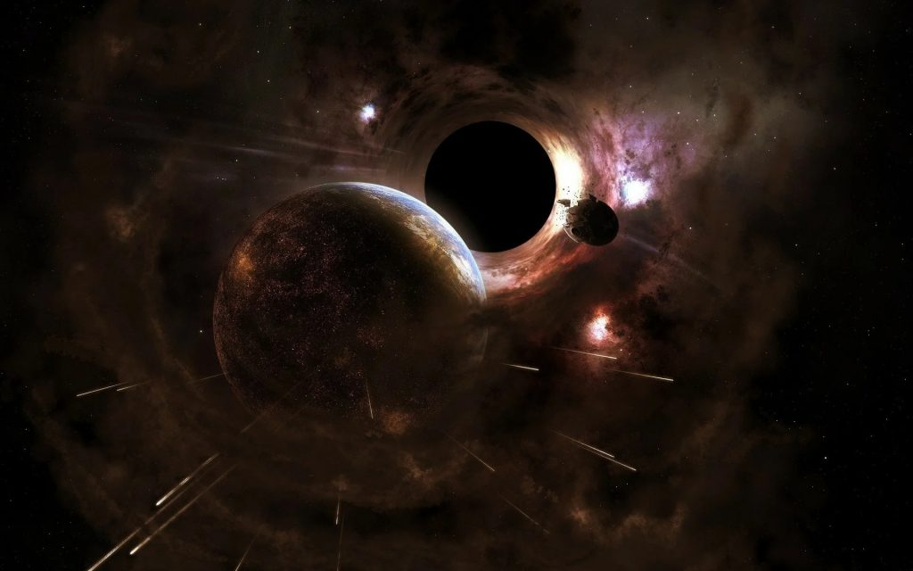 Viable planets can form in the orbits of black holes