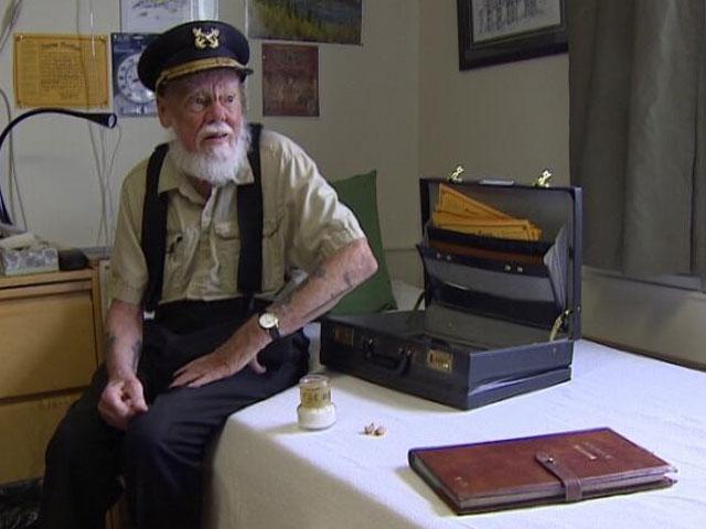 Inventor of the Sourtoe Cocktail Captain Dick Stevenson