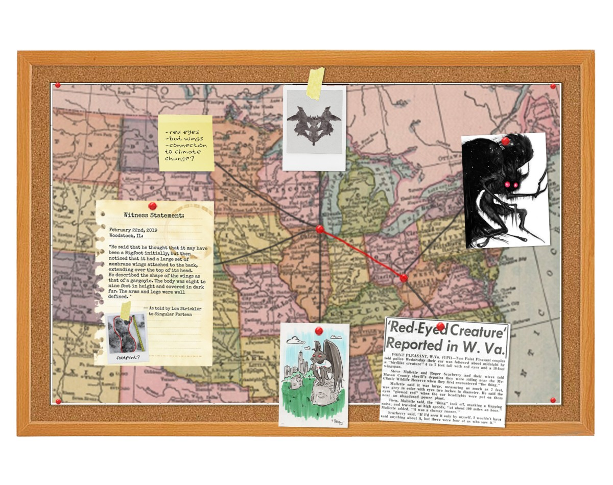 Mothman map updated