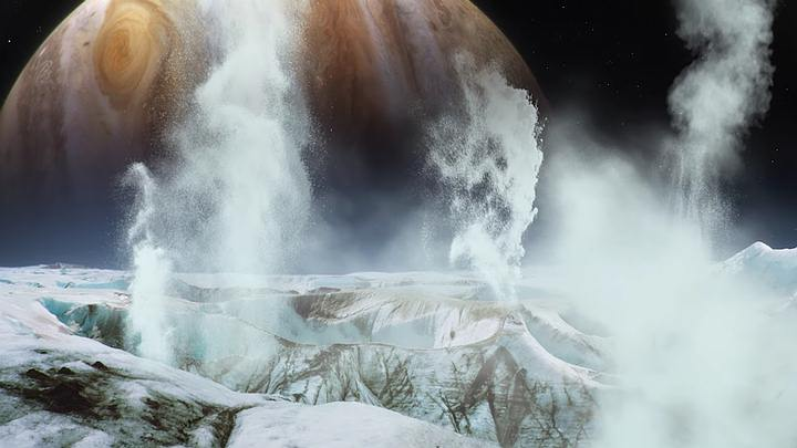 Europa Scientists detect water vapor on Jupiter's moon Europa