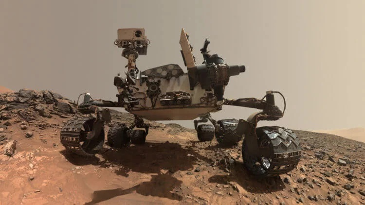 Curiosity recorded an increase in oxygen concentration on Mars 91