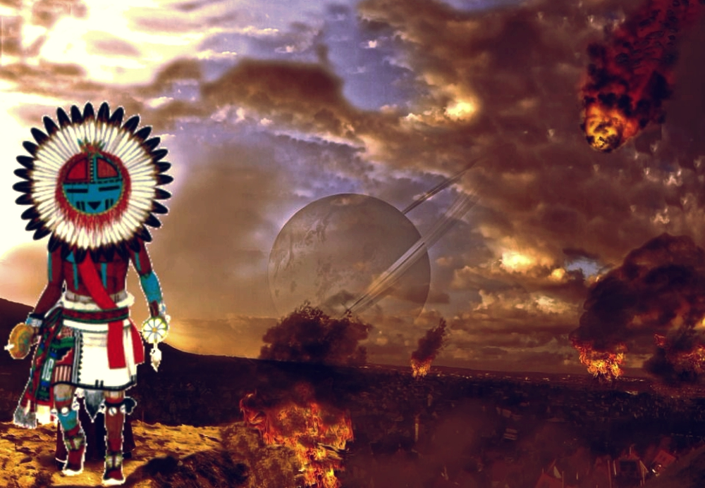 The Hopi legend of the 'flying shields' 97