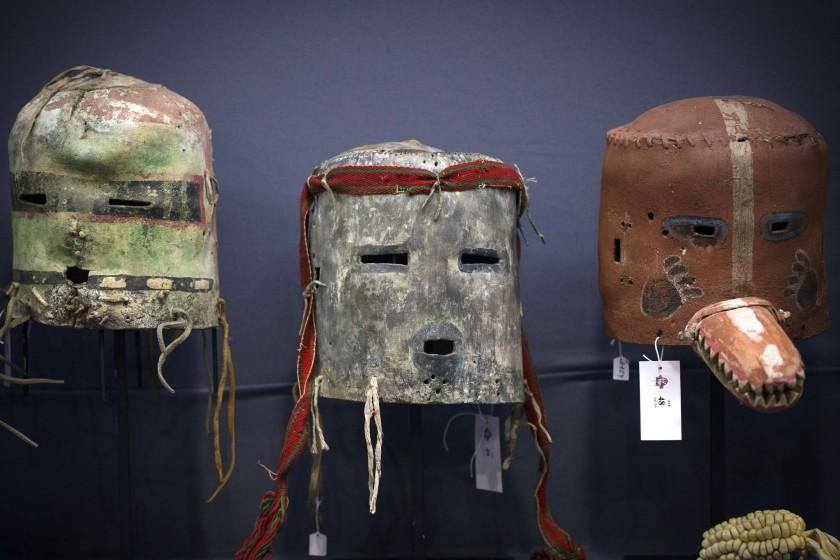 Hopi masks