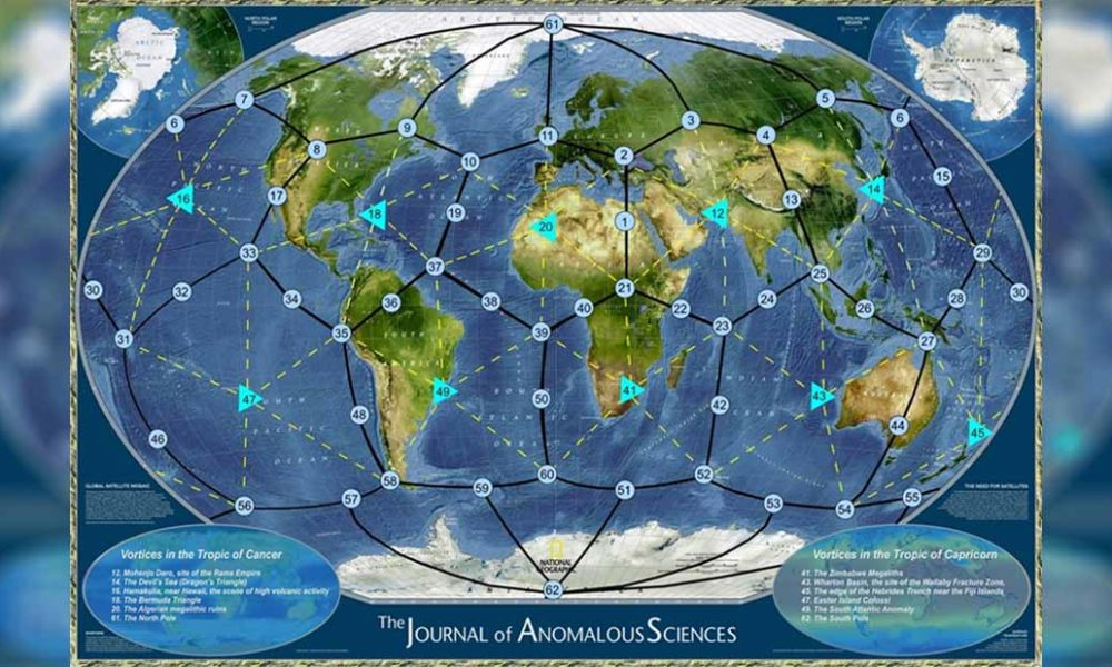 The Ley Lines: could they influence the Earth in any physical way? 1