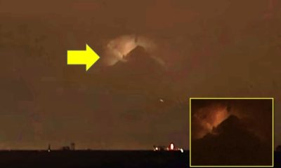 """Mysterious and huge object in the shape of a """"pyramid"""" appears in the sky above Philadelphia 94"""