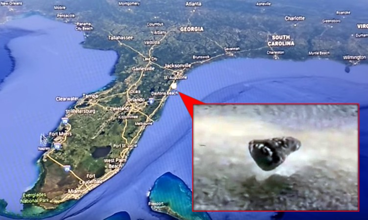 3D RADAR discovers three UFOs on the north Florida coast 92