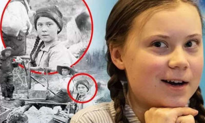 Is Greta Thunberg a time traveller? A photo from 1898 could confirm it 86