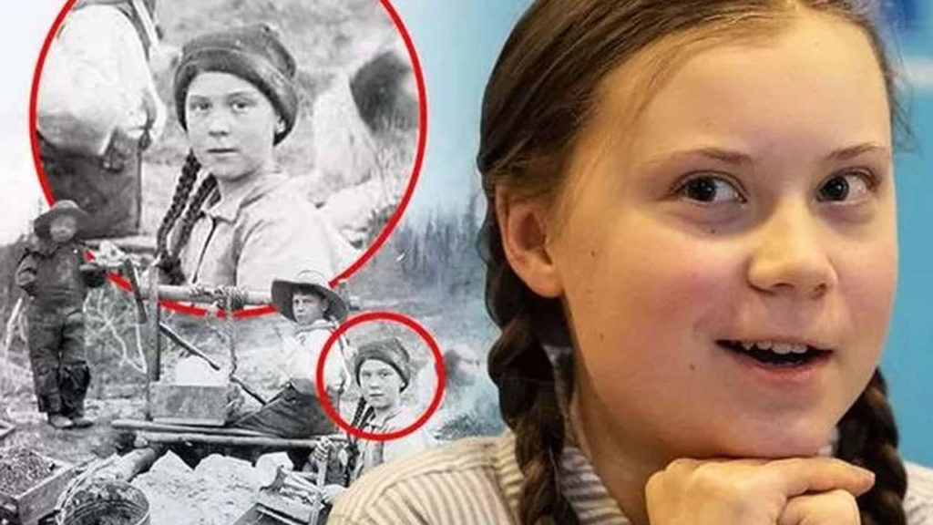 Is Greta Thunberg a time traveller? A photo from 1898 could confirm it 1