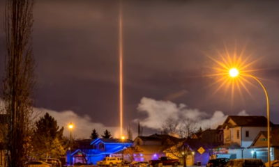 Mysterious Ray of Light causes panic in Edmonton, Canada 91