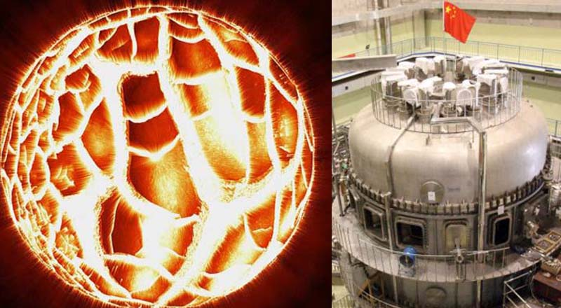 China announces the completion of its Artificial Sun and expect it to become operational in 2020 90