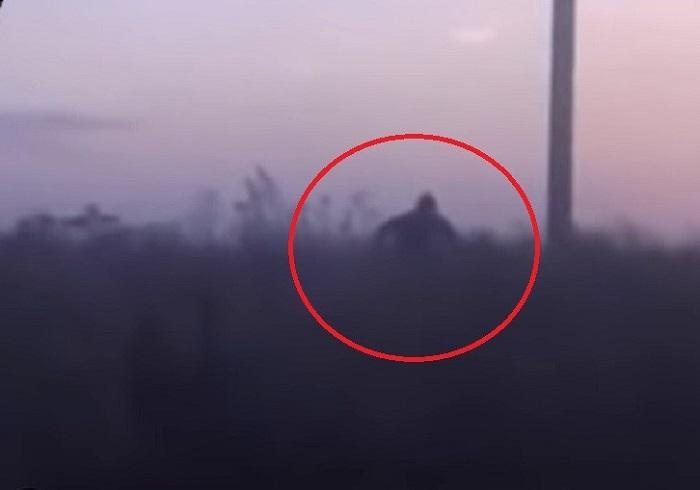 Bigfoot chasing car in Bashkortostan (video) 91