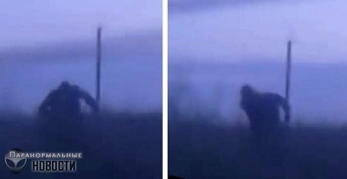Bigfoot chasing car in Bashkortostan (video) 92