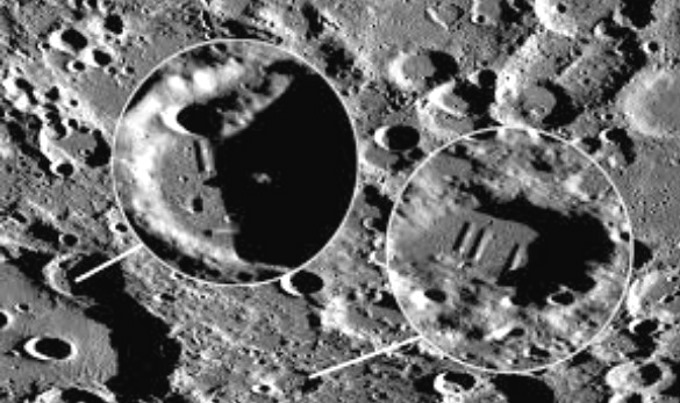 Scientific study reveals: Alien Artificial Structures are found on the dark side of the Moon 98