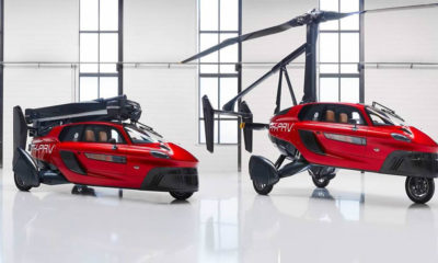 This is the world's first commercial flying car 86