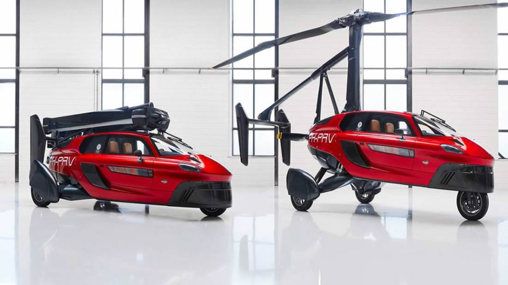 This is the world's first commercial flying car 1