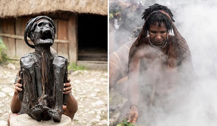 The Dani cannibal tribe and their smoky dead ancestors 19