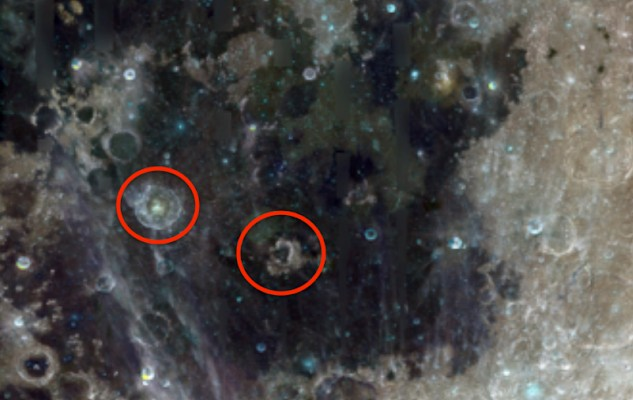 """The Clementine space probe photographed """"Alien Structures"""" and a """"Dome"""" on the Moon 19"""