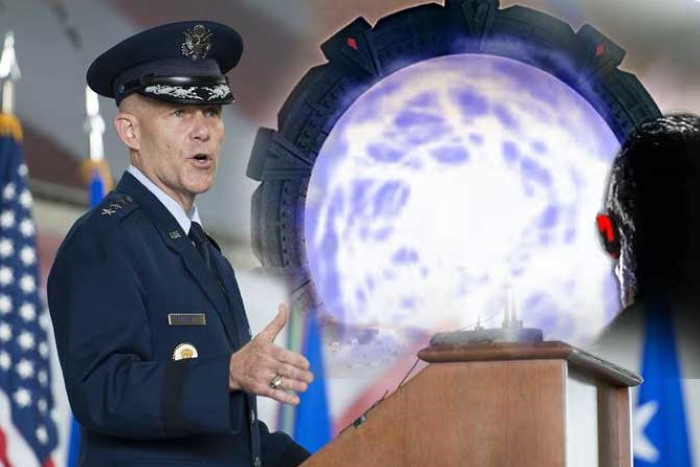 """General Steven Kwast (USAF): """"Technology exists to Teleport Human Beings from Earth to any place"""" 92"""