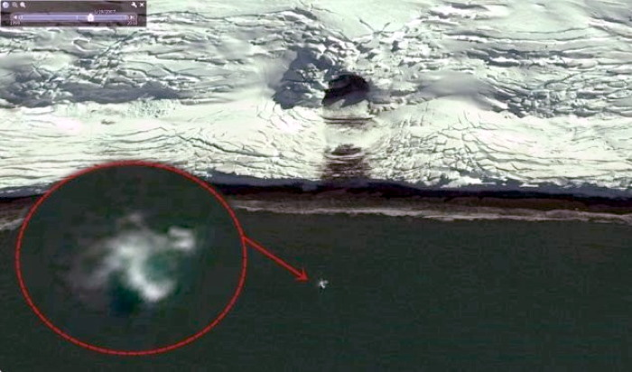 Something huge escaped from a secret underground base on King George Island, Antarctica 5