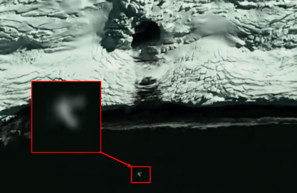 "Is this a hole in Antarctica? Satellite maps show a previously ""hidden"" access"
