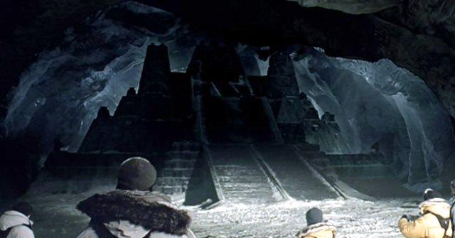 Ancient aliens in Antarctica