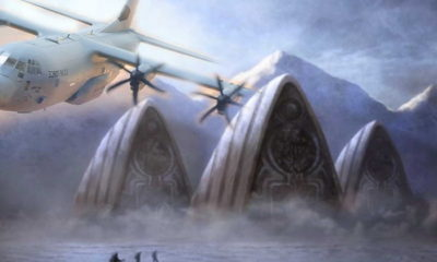 US Navy pilot tells of an Ancient Alien City found in Antarctica 97