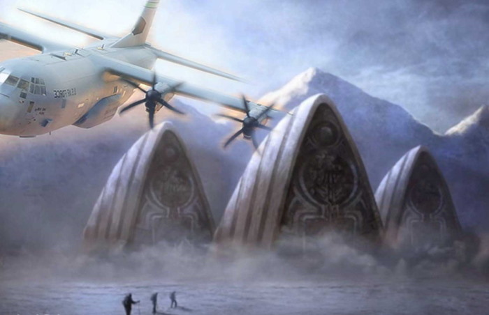 US Navy pilot tells of an Ancient Alien City found in Antarctica 26