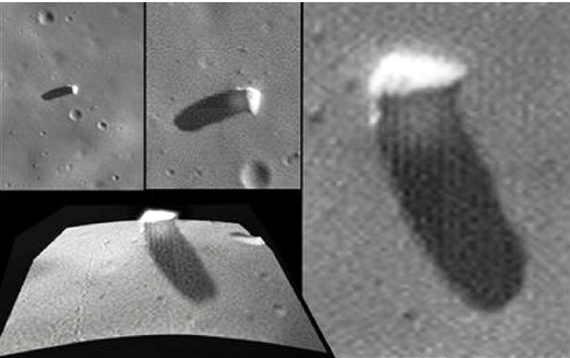 Extraterrestrial explorers allegedly built Monoliths on Mars and the Phobos Moon 102