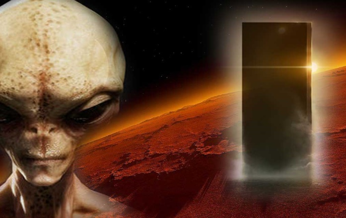 Extraterrestrial explorers allegedly built Monoliths on Mars and the Phobos Moon 98