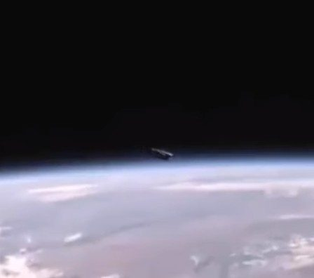 Huge UFO appears near the International Space Station 103