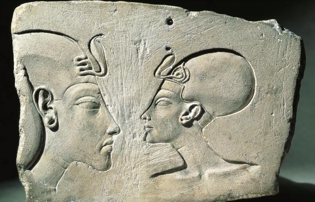What was Athos, Pharaoh Akhenaten's solar disk? 96