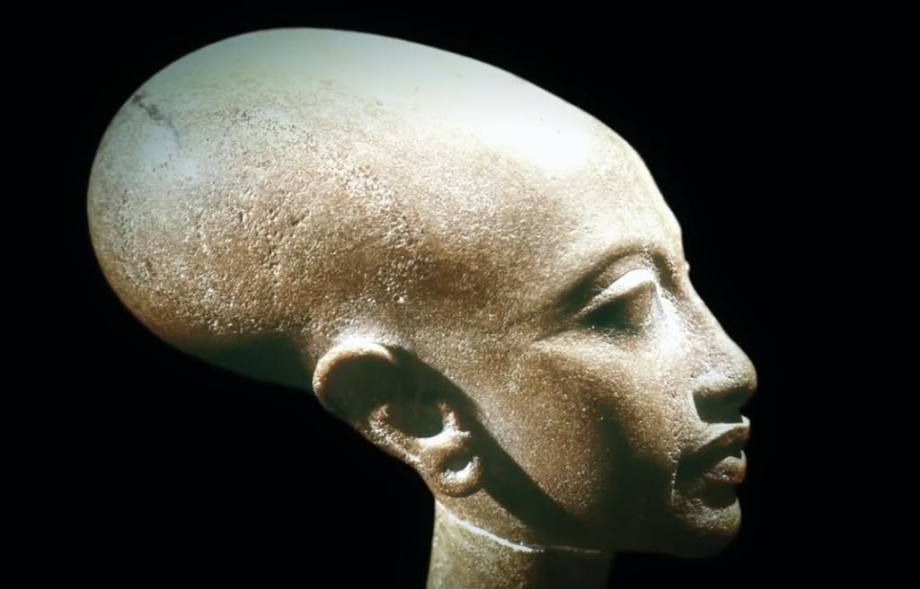 What was Athos, Pharaoh Akhenaten's solar disk? 95