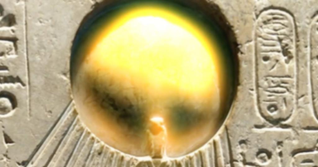 What was Athos, Pharaoh Akhenaten's solar disk? 22