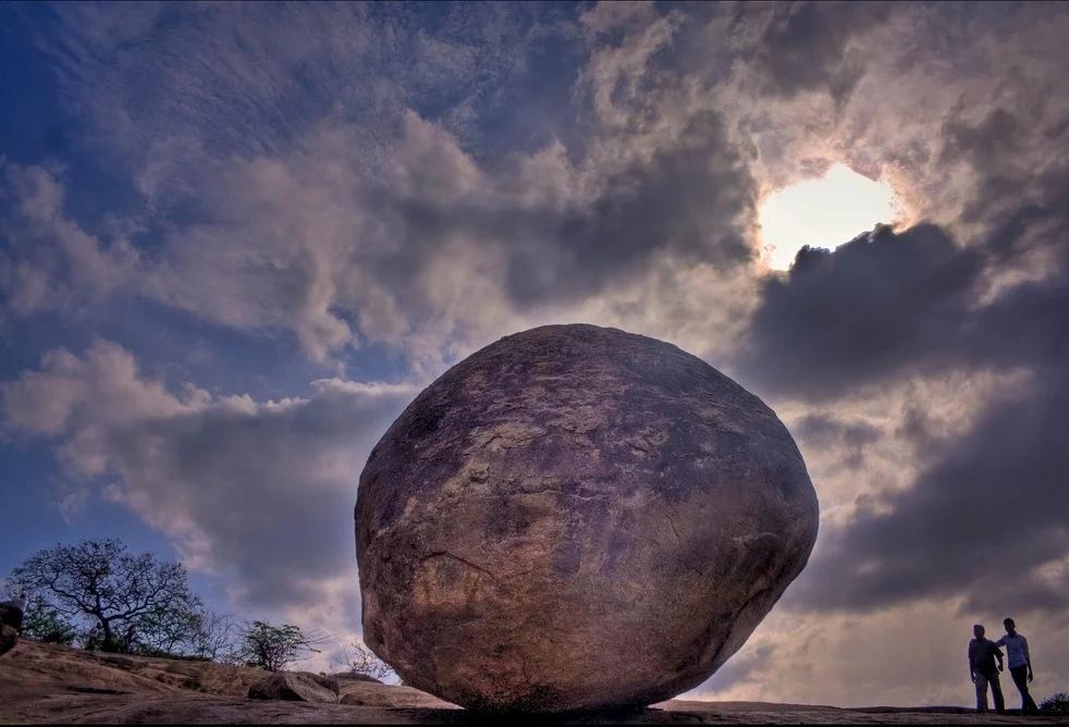 Krishna's Oil Ball