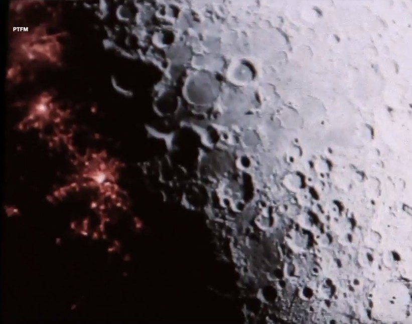 "A huge Hologram is hiding ""Bases, fortresses and Alien Cities"" on the Moon 99"