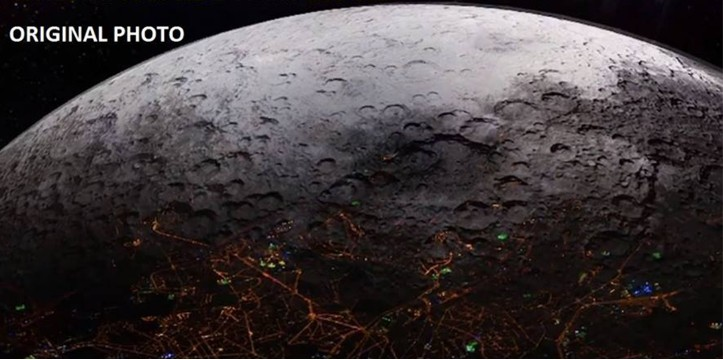 """A huge Hologram is hiding """"Bases, fortresses and Alien Cities"""" on the Moon 15"""
