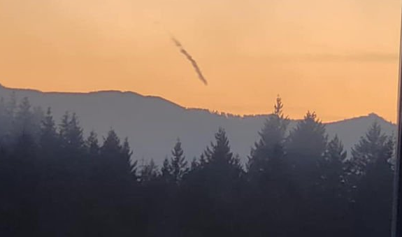 Police Investigate a Possible UFO Crash in Rural Oregon County 92