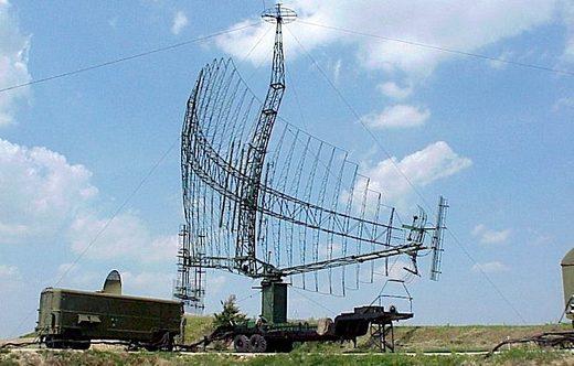 A Soviet P-14 radar
