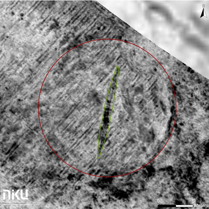 Viking Ship Found Buried In a Norwegian farm 8