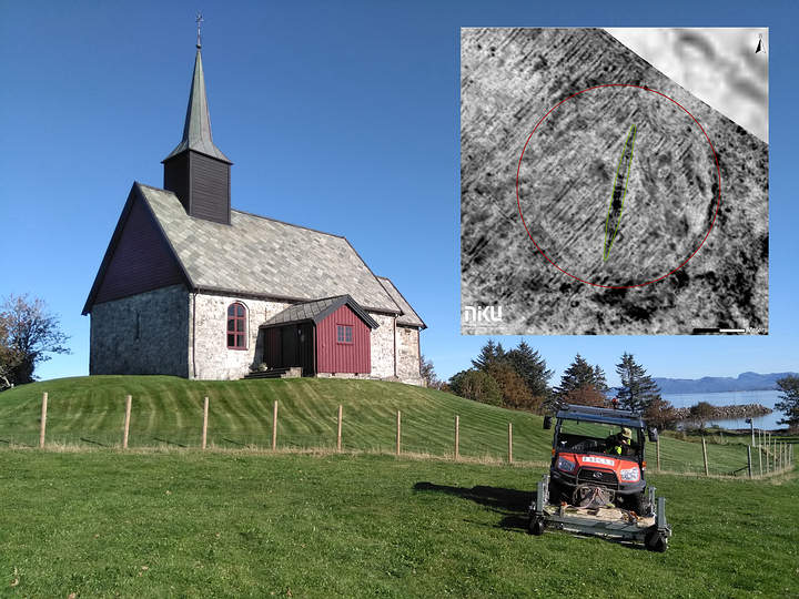 Viking Ship Found Buried In a Norwegian farm