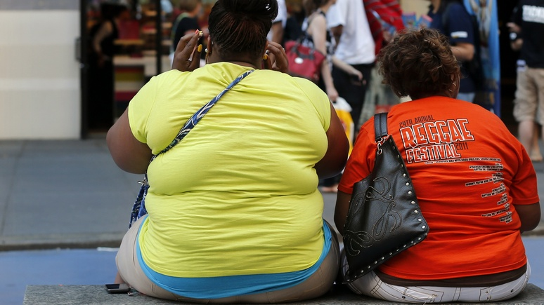 Trumpet: Americans are getting fat rapidly, but consider it normal