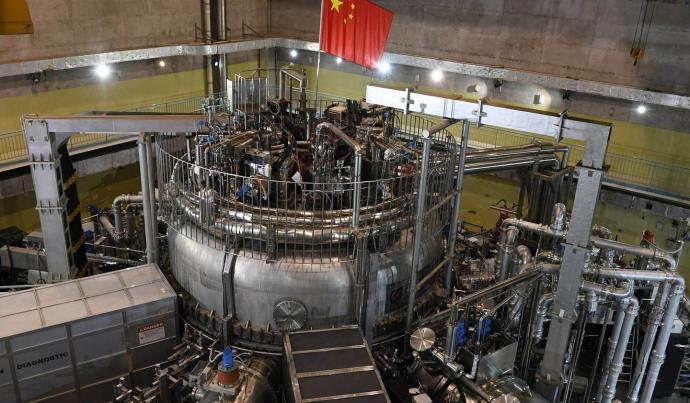 % name China announces the completion of its artificial Sun and expect it to become operational in 2020