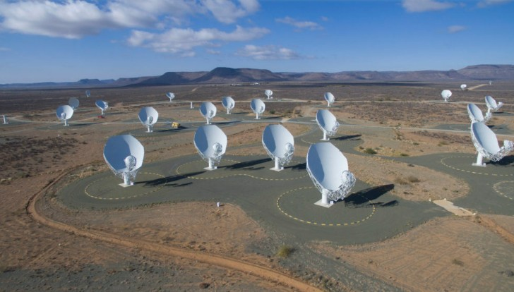 MeerKAT radio telescope records a Mysterious Signal from the constellation of Ara 89