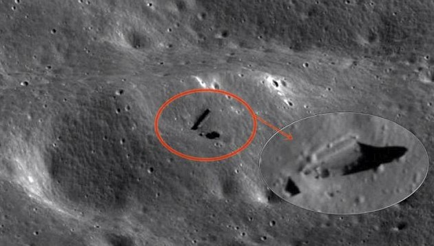 Scientific study reveals: Alien Artificial Structures are found on the dark side of the Moon 99