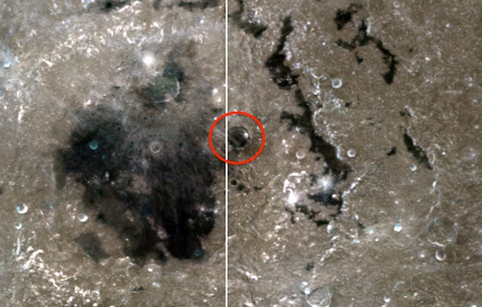 """The Clementine space probe photographed """"Alien Structures"""" and a """"Dome"""" on the Moon 16"""