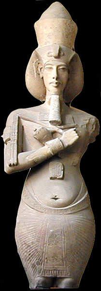 What was Athos, Pharaoh Akhenaten's solar disk? 97