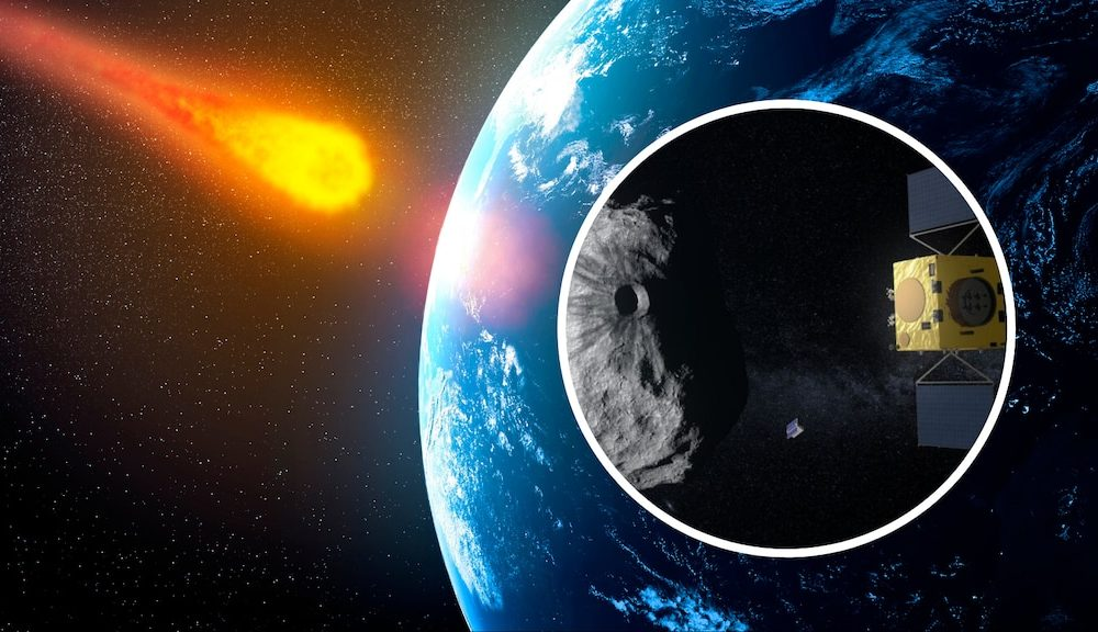 Asteroid as big as the pyramids on its way and could zoom past Earth on Friday 86